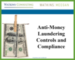 Lunch & Lean Anti-Money Laundering Controls and Compliance slides first page